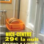 Studette, 29 euros la nuitée